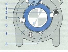 Датчик ъгъл на завъртане - датчик обороти бош