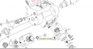 F01M100599 metalo gumeno upltnenie na pompena sekciq